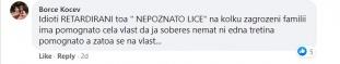 Коментари со говор на омраза во однос на објавена вест од настан на штипскиот градоначалник– Штип