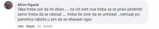 Фејсбук објава за анти ЛГБТ насилства во Грузија и коментари со говор на омраза. - Штип