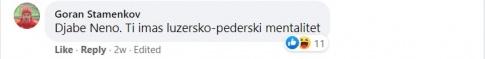 Фејсбук објава за трансфер на македонски кошаркар во Шпанија - Штип